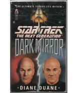 Dark Mirror - Star Trek: The Next Generation Diane Duane PB 1994 9780671... - $1.86