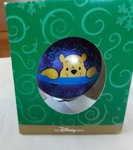Disney Pooh Glass Ornament Enchanted Christmas 1998 - $12.76