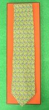 Hermes of Paris Jockey on Giraffe Tie - $150.00