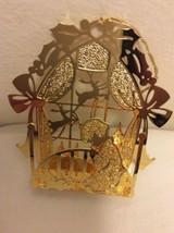 "1988 ""Christmas Eve Prayer"" Danbury Mint Gold Christmas Ornament  - $14.95"