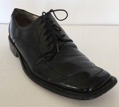 Kenneth Cole New York Black Leather Oxford Dress Shoes Men's 9.5 M - $39.55
