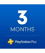New! Sony PlayStation Plus 3 month Membership Digital Code Fast Email De... - $24.74