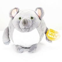 "Goof Ballz Kiely the Koala Plush 6"" Tag Gray Ball Stuffed Animal Toy 2012 - $15.70"