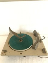 Vtg Console Radio Turntable Pe-66 Plate Spins  - $39.60