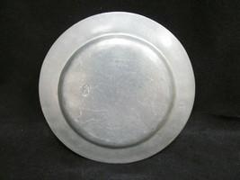 "Vintage Wilton-Columbia ~ 5th Anniversary Pewter 11"" Armetale RWP Plate    - $18.48"