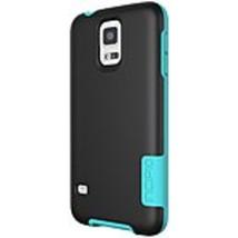 Incipio OVRMLD Case for Samsung Galaxy S5 - Black/Turquoise - SA-531-BLK - Flexi - $18.44