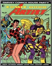 Comic Book Artist #19 2002-Harvey Comics House Party!-Spirit-Eisner-VF - $31.53