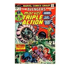 Marvel Triple Action #21 VG Marvel 1974 Reprints Avengers #27 Scarlet Witch - $3.91