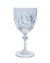 """Vintage Crown Point Gorham Crystal 7"""" Water Goblet Replacement Glass - $12.00"""