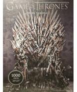 Game of Thrones: Iron Throne Deluxe 1000 Piece Puzzle Dark Horse Deluxe ... - $29.39