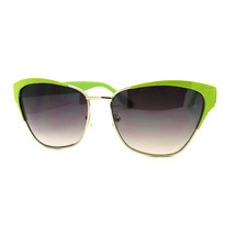 Celebrity Fashion Sunglasses Womens Square Cateye Shades - $7.95