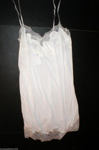 NWT New Designer Natori Night Gown Chemise Ivory White Small Sexy Bride ... - $104.00