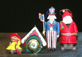 Hallmark Handcrafted Ornaments AA-191785 Collectible (4 Pieces ) image 3