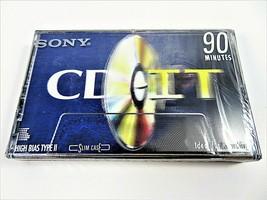 Blank Cassette Tape Sony CD-IT C-90CDT2A Type II High Bias 90 Min Single Sealed  - $7.42