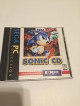 Sonic CD (PC, 1996) Sega Entertainment Video Game Complete Free Shipping - $9.90