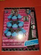 "Wilton Monster High 12""W x 16.5"" H Cupcake Stand [New in Package] - $10.84"