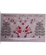 Pattini d'Argento cross stitch chart Cuore e Batticuore  - $11.70