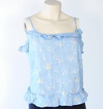 Tommy Hilfiger Nautical Blue Summer Tank Top Womans Large L NWT $59 - $37.12