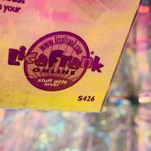 VTG Lisa Frank FULL Sticker Sheet S426 DREAM WRITERS KITTENS BUBBLES 2shipoption image 4