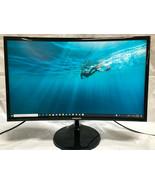 Samsung CF390 Series 24 inch FHD 1920x1080 Curved Desktop Monitor - $160.12