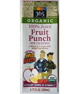 Wild Kratts Organic 100% Juice from Concentrate, Fruit Punch Empty - 6.7... - $3.00