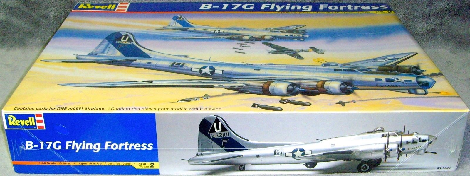 Vintage•2004•New•Sealed•Revell•B-17G Flying Fortress•1:48 Scale•Model•# 85-5600