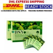 40 X BSY Noni Black Grey Hair Removal Magic Herbal Essence Shampo Dye 20... - $69.90