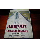 AIRPORT Arthur Hailey (1968) 1ST EDITION HARDCOVER WITH DUST JACKET - $24.11