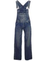 Anna-Kaci Womens Vintage Wash Straight Leg Denim Overalls with Pocket Bib - $58.89+