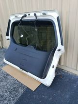 17 Subaru Forester Rear Hatch Tailgate Liftgate Trunk Glass Lid W/ Cam & Spoiler image 9