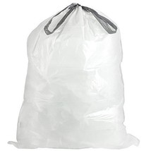 Plasticplace simplehuman x Code Y Compatible Drawstring Garbage Liners 3... - $104.23