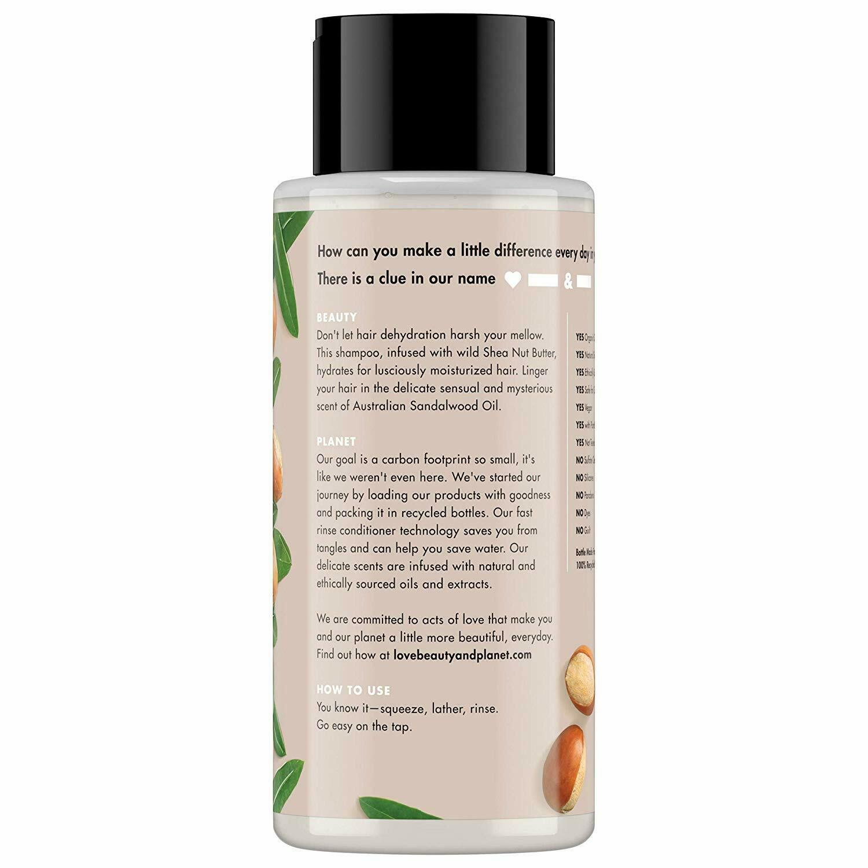 Shea Butter and Sandalwood Moisturizing Shampoo