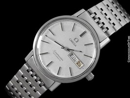 1980 OMEGA SEAMASTER Vintage Mens SS Steel First DQ Watch - Mint with Wa... - $1,171.10