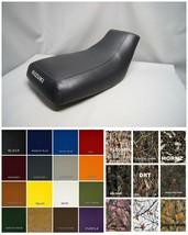 Suzuki OZARK 250 Seat Cover  in 2-tone CHARCOAL /& BLACK   LTF250 2002-2009