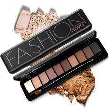 NOVO Eye Makeup Shadow Palette Naked Shimmer Matte Eyeshadow Palette Wit... - $4.50+