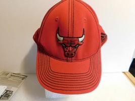 CHICAGO BULLS HAT RED ADIDAS S/M - $9.95