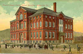 Public School Jeanette Pennsylvania 1906 vintage Post Card - $6.00