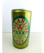 BALLANTINE XXX ALE 3 SIDED TALL BEER CAN Top Opened - $24.49