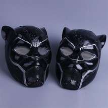 2018 Black Panther LED Helmet Mask T'Challa Cosplay Costume Prop - $52.29 CAD+