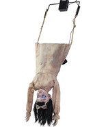 Halloween SWINGING HEAD FIRST LITTLE GIRL DOLL ANIMATED Prop Haunted Hou... - £108.06 GBP