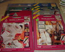 Large Lot Crafts Sewing Crochet Quilting Color Point + More