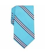 Club Room Mens Cranston Stripe Pattern Work Wear Neck Tie Blue - £6.89 GBP