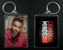 CRIMINAL MINDS keychain / keyring DEREK MORGAN Shemar Moor - $7.99