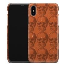 Casestry | Orange Skeleton Halloween Strange Weird | iPhone X Case - $11.99