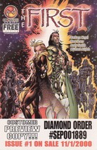 Promo Comic Book The First Preview Issue CrossGen Comics Bart Sears - 2000 - $2.95