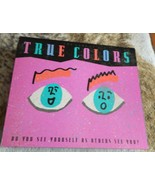 """TRUE COLORS BOARD GAME """"DO YOU SEE YOURSELF AS OTHERS SEE YOU?"""" - $18.00"""