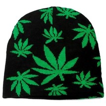 Punk Winter Skiing Snowboarding Hat Marijuana Leaves Beanie # FT125 ( QT... - ₹862.64 INR