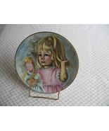 VINTAGE HAVILAND LIMOGES FRANCE Collector Plate PINKY & BABY 1976 Ltd ED... - $17.97