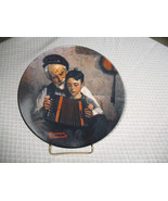 VINTAGE Collector Plate Norman Rockwell The Music Maker Limited Edition ... - $23.97