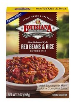 Louisiana Fish Fry, Red Beans & Rice Mix, 7 oz Pack of 12